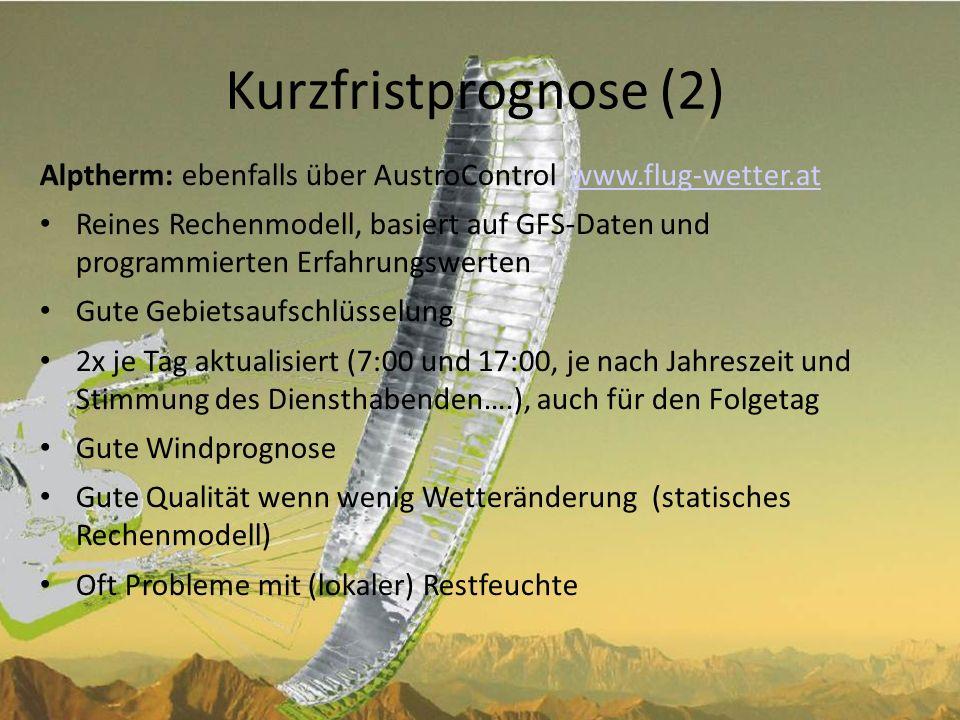 Kurzfristprognose (3) www.wetterzentrale.dewww.wetterzentrale.de DIE Basisdaten.