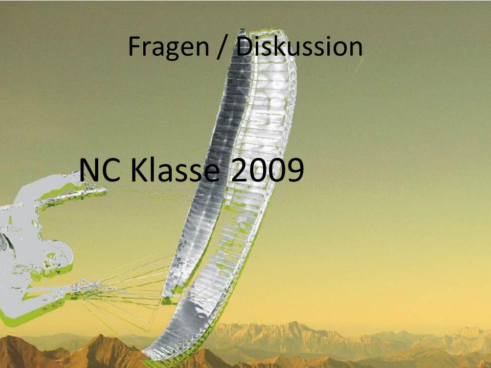 Fragen / Diskussion NC Klasse 2009