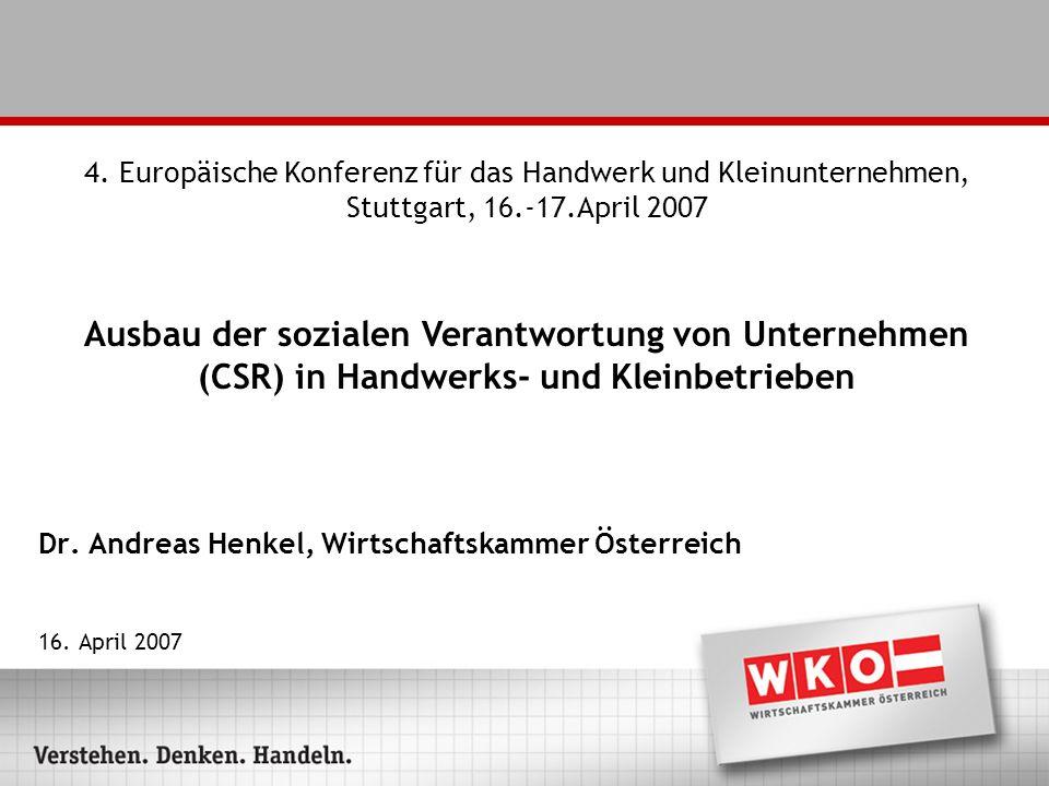 Dr. Andreas Henkel, Wirtschaftskammer Österreich 16.