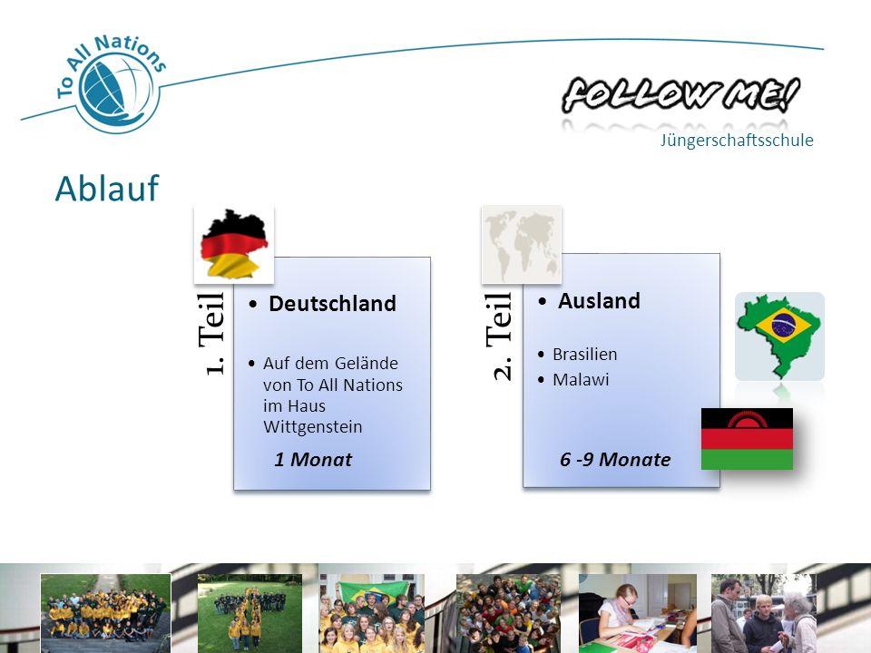 1.Teil Deutschland Auf dem Gelände von To All Nations im Haus Wittgenstein 2.