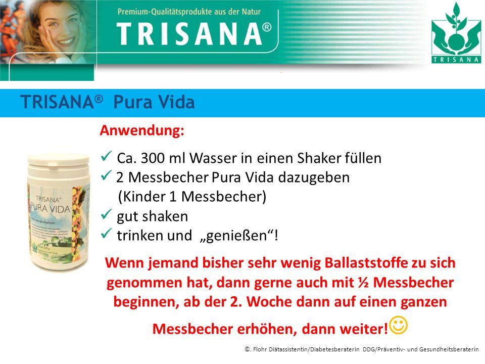Anwendung: Ca. 300 ml Wasser in einen Shaker füllen 2 Messbecher Pura Vida dazugeben (Kinder 1 Messbecher) gut shaken trinken und genießen! Wenn jeman