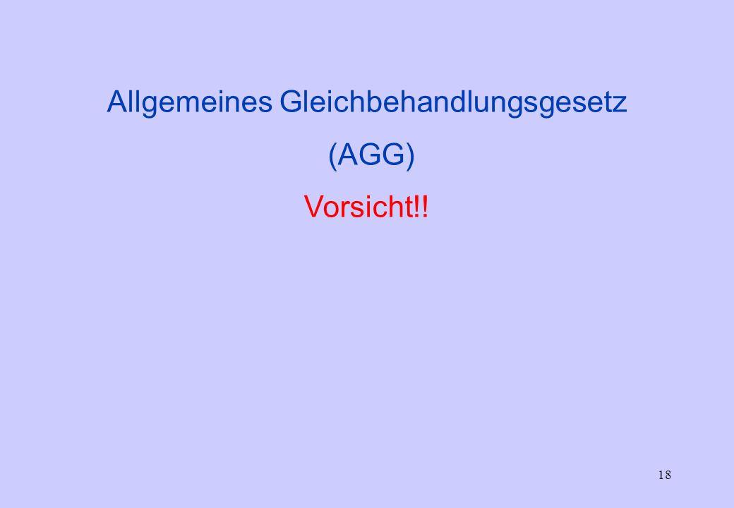 17 Ausschreibung (Inserat) - geschlechtsneutral Vorstellungskosten Zulässige/Unzulässige Fragen beim Einstellungs- gespräch) Einstellung PW Günther Ko