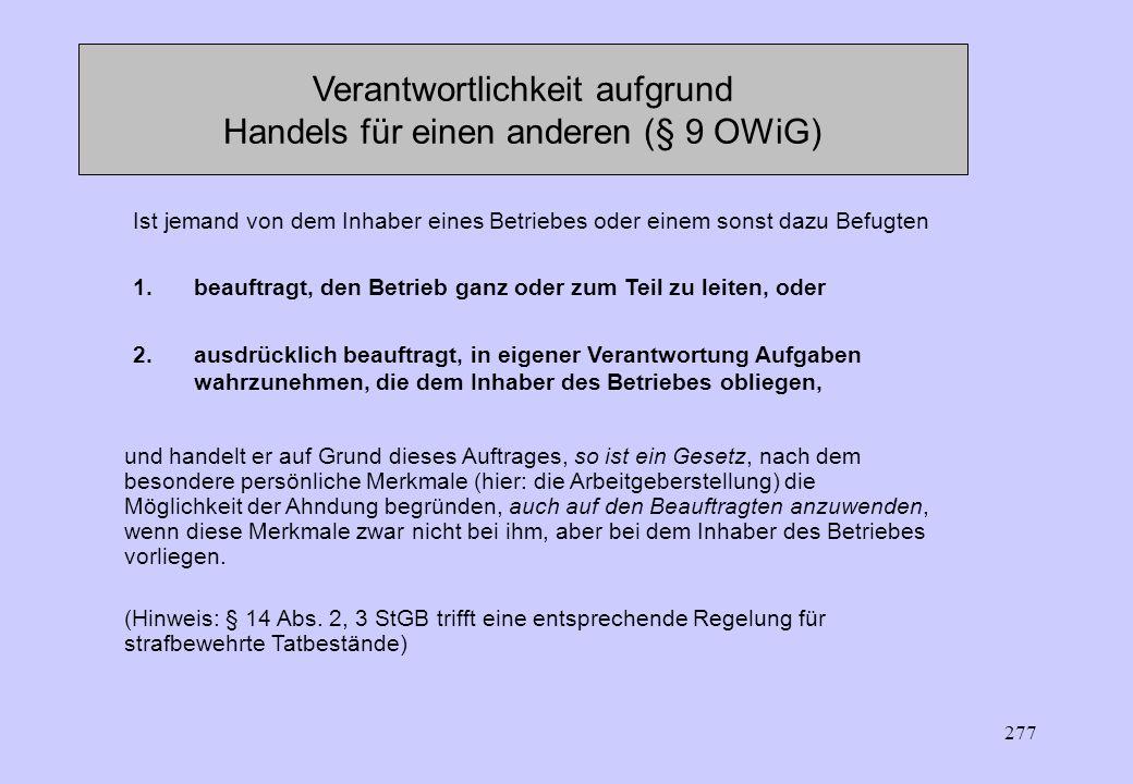 276 Straftatbestände (§ 23 ArbZG) Beharrliche Wiederholung (vorsätzlich) von Verstößen gegen Überlastungsschutznormen kulturelle Arbeitszeitnormen ode