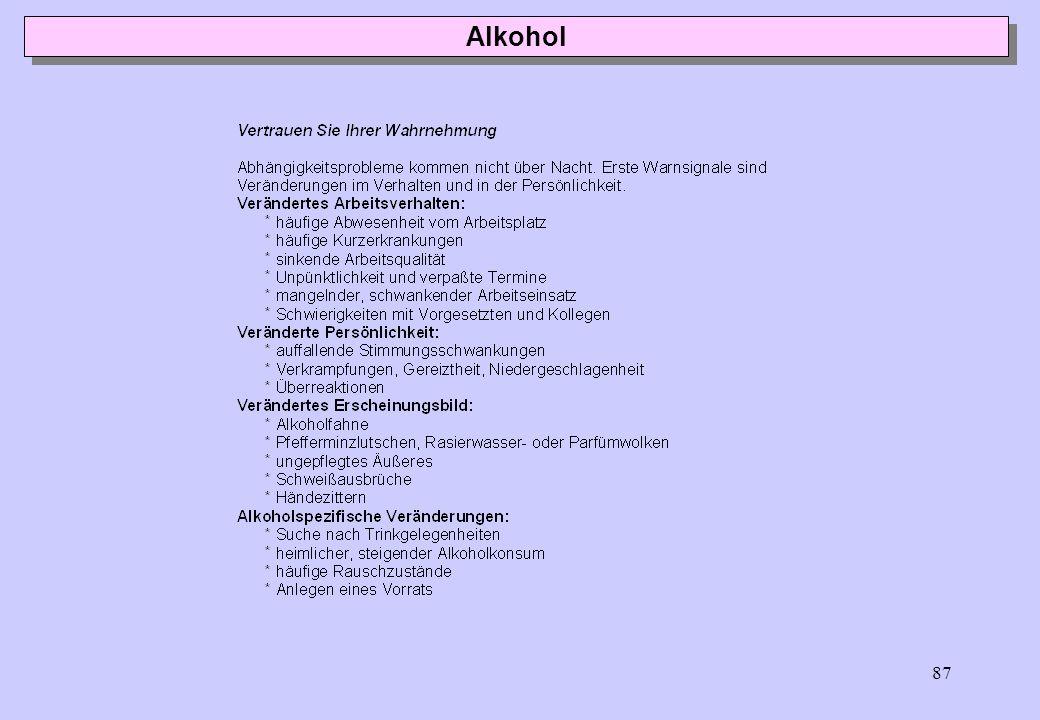 86 Alkohol