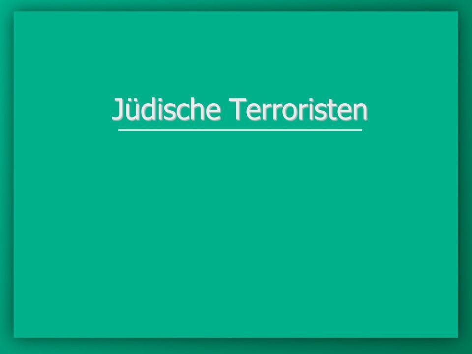 Jüdische Terroristen