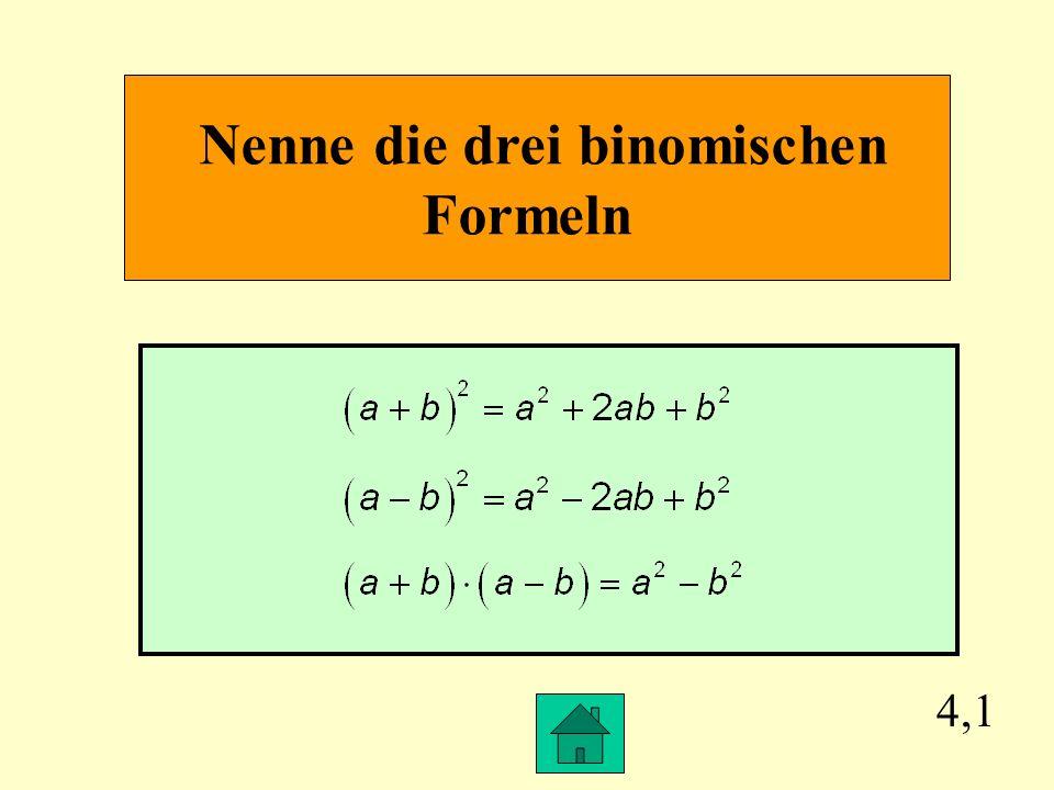 3,4 Gib für folgende Rechenvorschrift einen Term mit einer Variablen an: Subtrahiere vom Quadrat einer Zahl den 3. Teil dieser Zahl.
