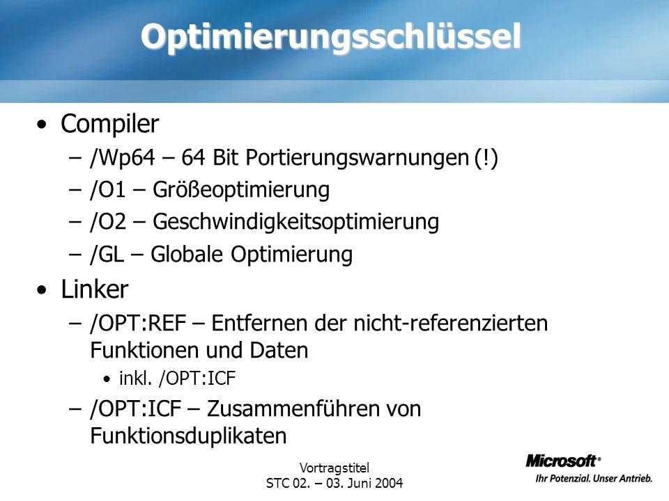 Vortragstitel STC 02.– 03.