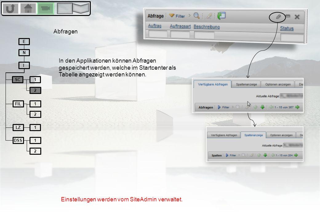 Wildcards/Globbing Das Filtern in den Listenansichten kann durch gezielte Zeichensetzung verbessert bzw erleichtert werden.