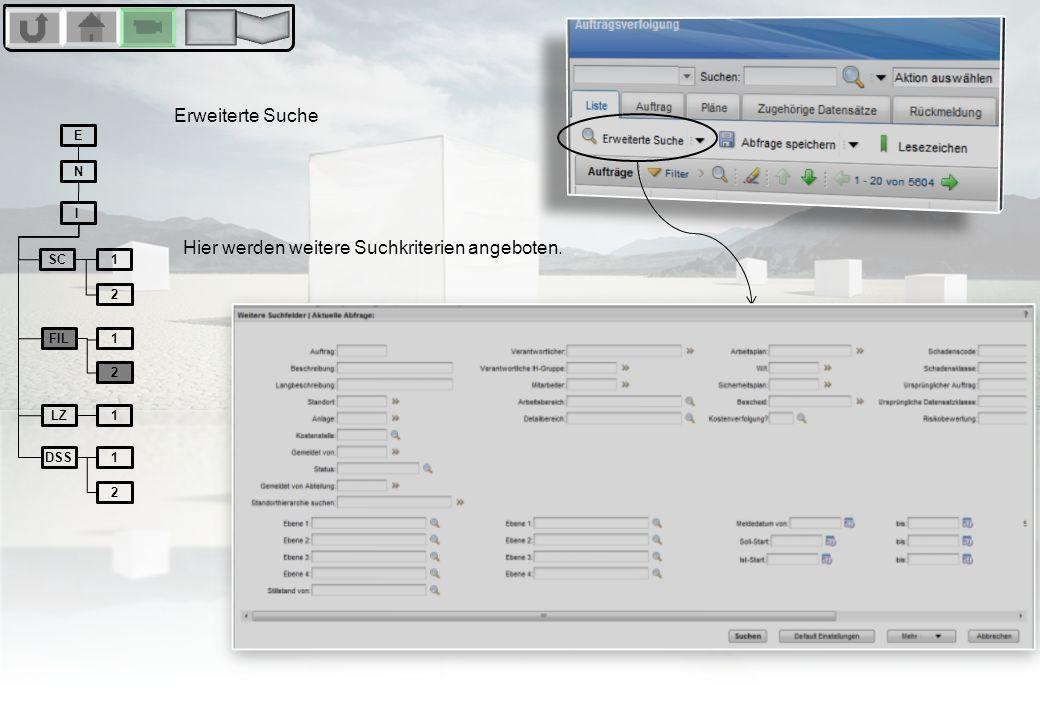 Lesezeichen Lesezeichen setzten erfolgt durch Klick auf das Lesezeichensymbol in der Listenansicht.