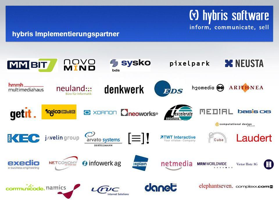 hybris Company Confidential hybris GmbH, 35 hybris Implementierungspartner