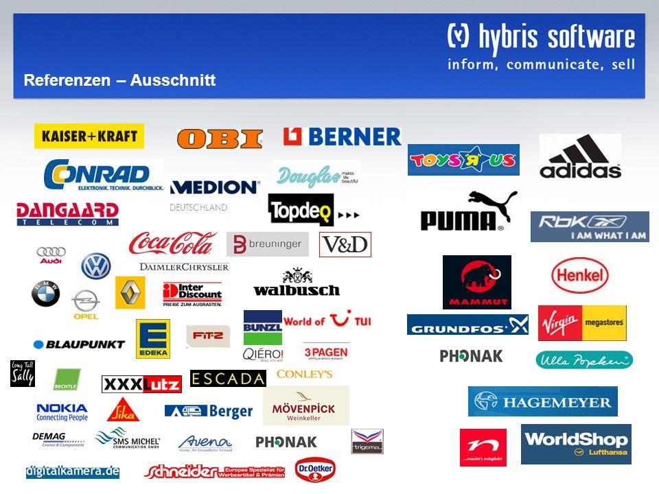 hybris Company Confidential hybris GmbH, 36 Referenzen – Ausschnitt