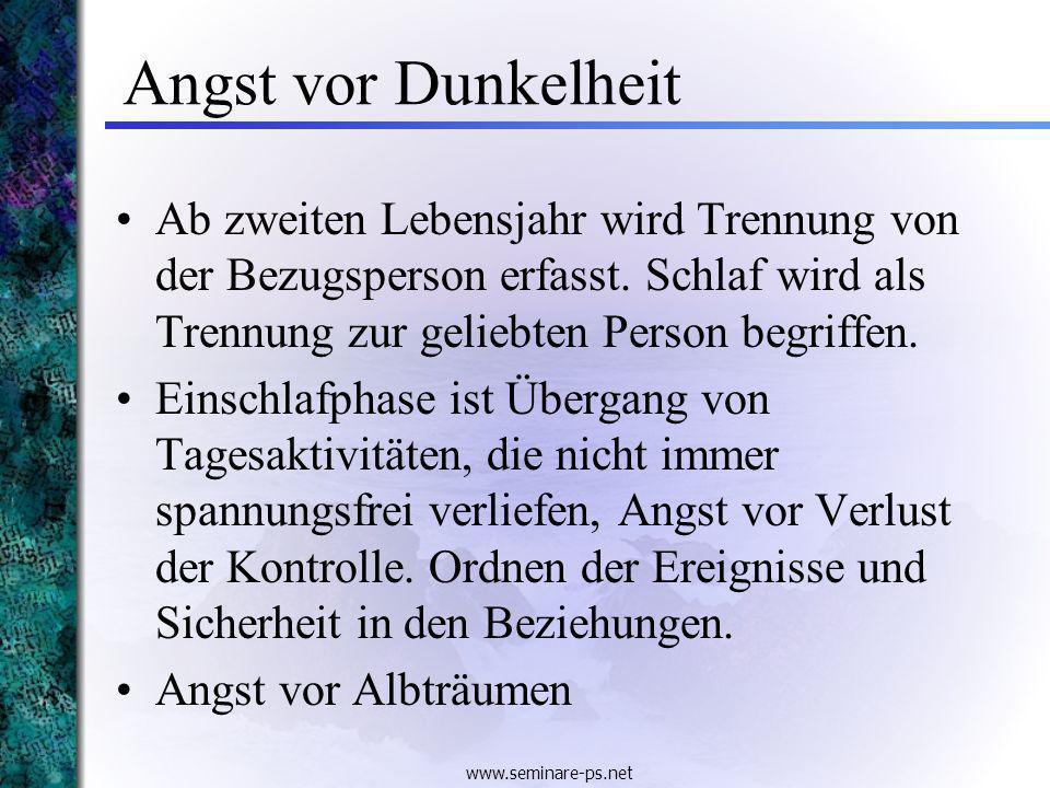 www.seminare-ps.net Erziehungsregeln: Konsequenz 7.