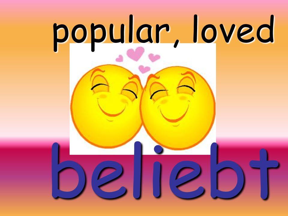 popularpopulär