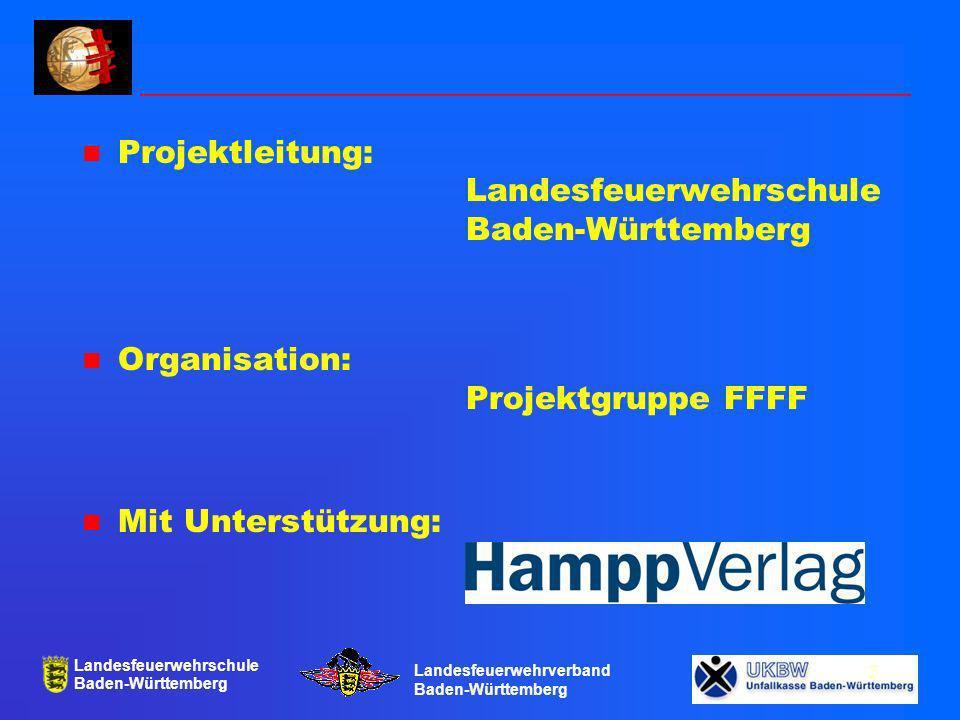 Landesfeuerwehrschule Baden-Württemberg Landesfeuerwehrverband Baden-Württemberg 14