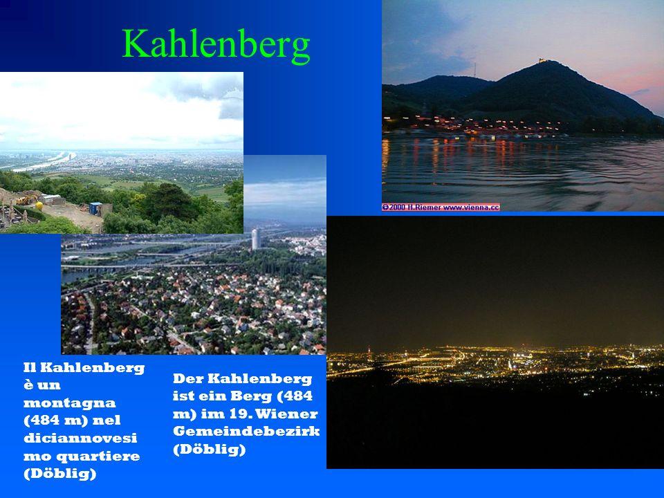 Kahlenberg Der Kahlenberg ist ein Berg (484 m) im 19.