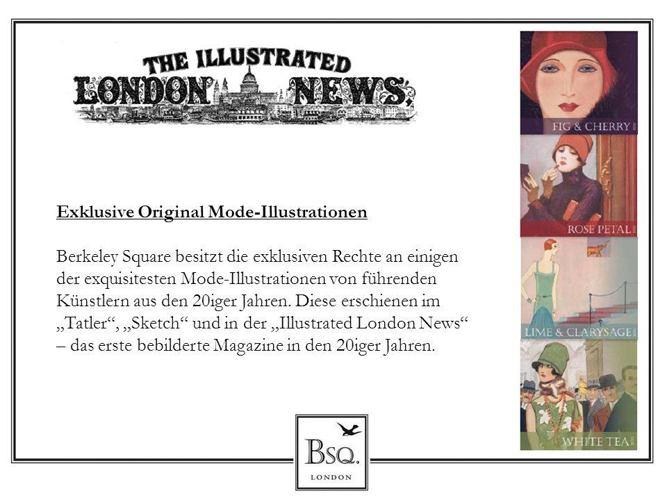 Exklusive Original Mode-Illustrationen Berkeley Square besitzt die exklusiven Rechte an einigen der exquisitesten Mode-Illustrationen von führenden Kü