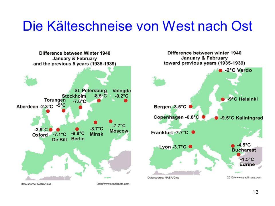 16 Die Kälteschneise von West nach Ost