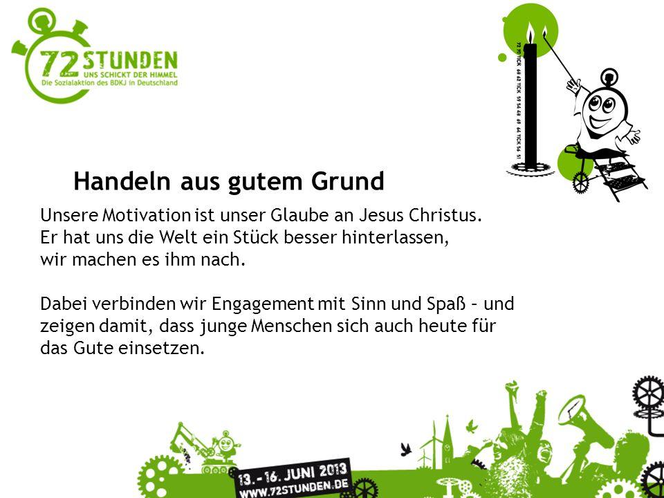 Überschrift Passender Untertitel zur Präsentation In ganz Deutschland engagieren sich vom 13.-16.