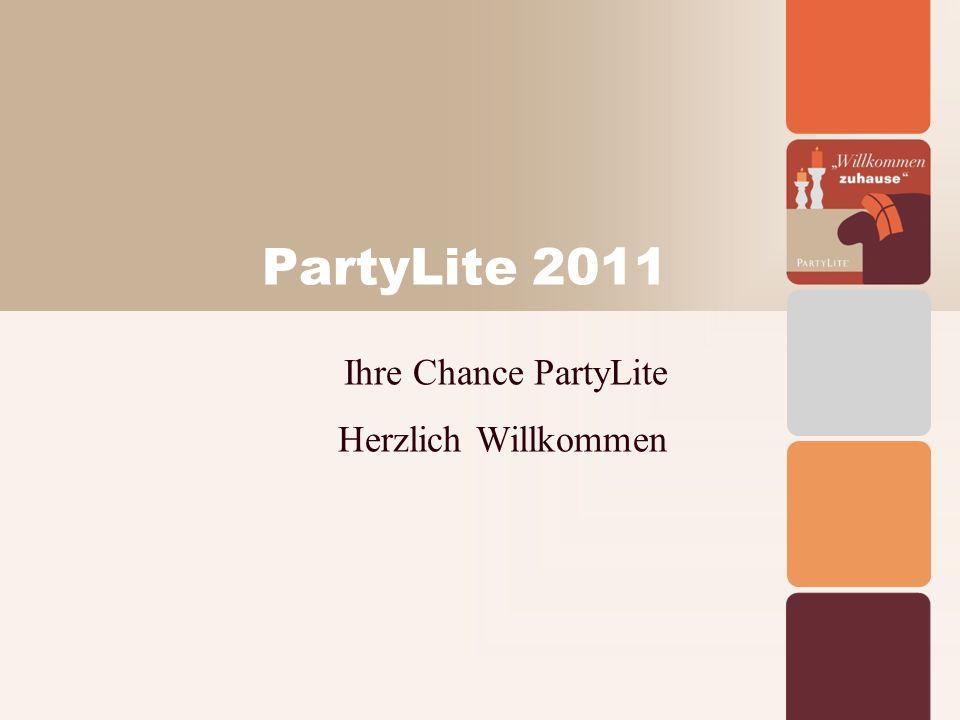 PartyLite 2011 Ihre Chance PartyLite Herzlich Willkommen