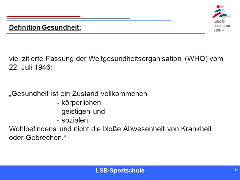 26 Referent LSB-Sportschule 26