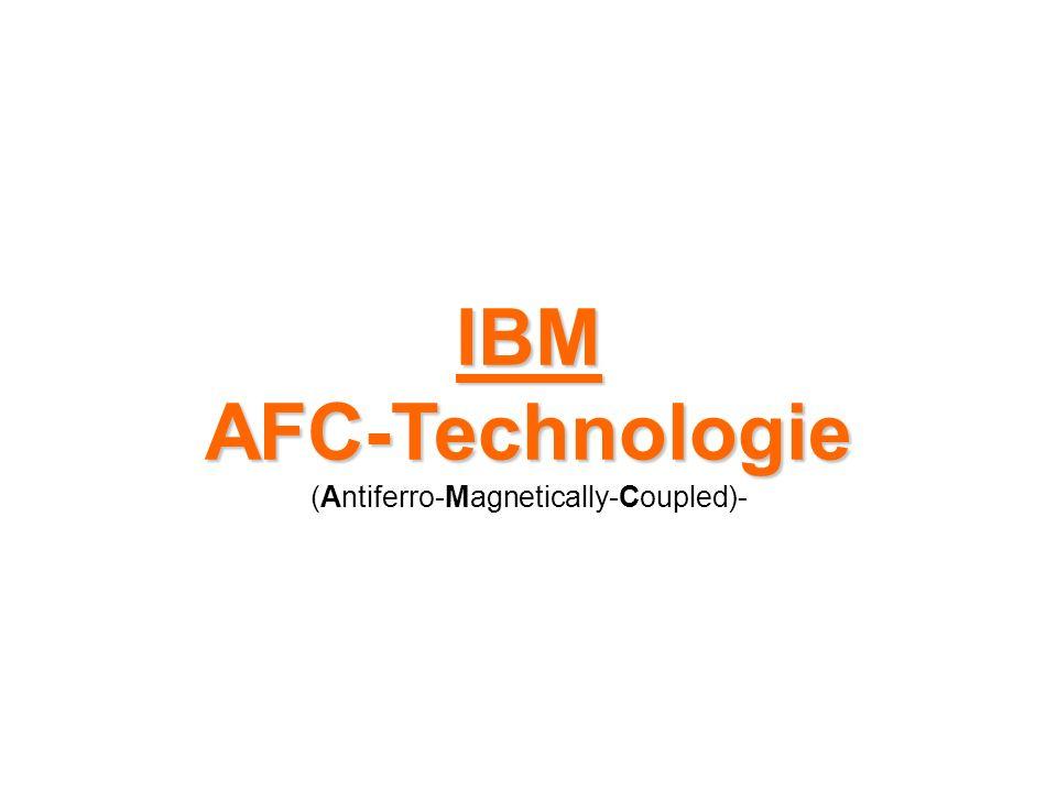 AFC Da die Anzahl der Scheiben durch die Gehäusegröße limitiert ist, müssen für noch mehr Kapazität neue Technologien her, die eine höhere Speicherdichte ermöglichen.