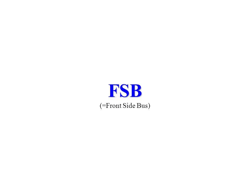 FSB FSB (=Front Side Bus)