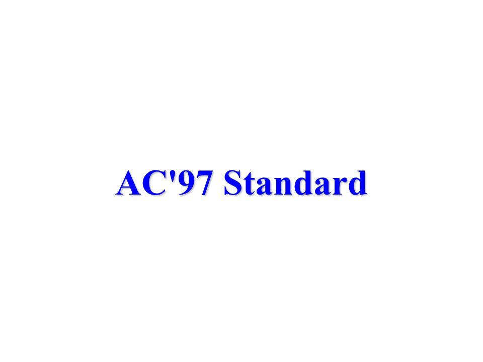 AC'97 Standard