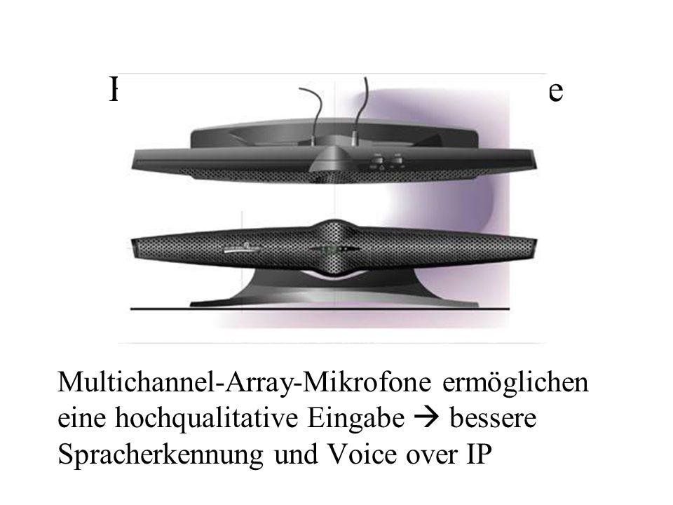 HDAS: Multichannel-Eingabe Multichannel-Array-Mikrofone ermöglichen eine hochqualitative Eingabe bessere Spracherkennung und Voice over IP