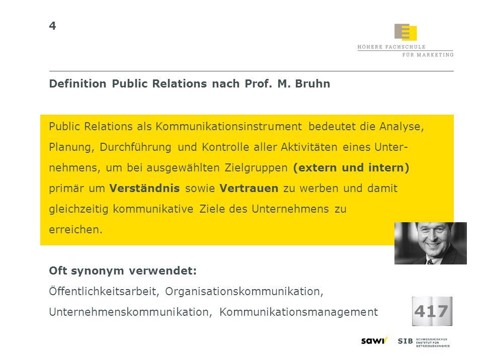 15 Sekundär-Zielgruppen Primär-Zielgruppen PR-Zielgruppen: Vorgehen Muss-Zielgruppen z.