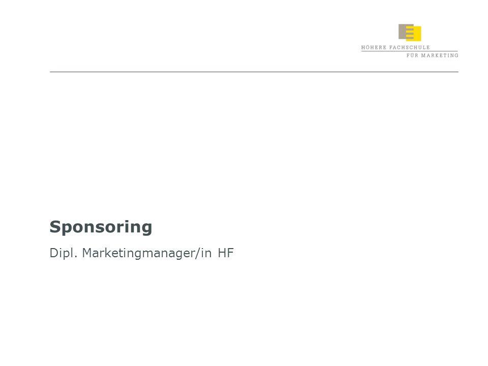 2 Lernziele «Sponsoring» Sie sind in der Lage, die Rolle des Instruments «Sponsoring» im Kommunikationsmix zu verstehen Zielgruppen, Ziele, Strategien und Massnahmen im Sponsoring zu definieren Unterschiede und Gemeinsamkeiten der drei Instrumente «Messen und Ausstellungen», «Event Marketing» und «Sponsoring» zu benennen