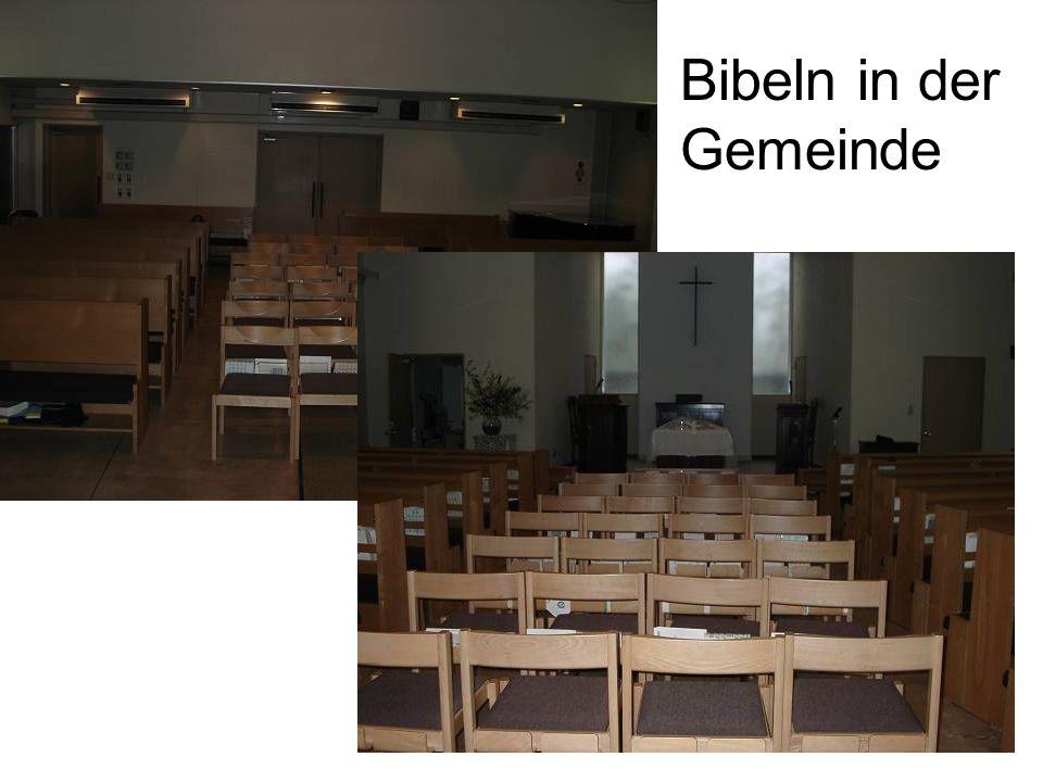 Bibeln in der Gemeinde