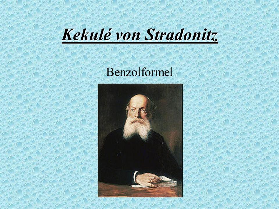 Kekulé von Stradonitz Benzolformel