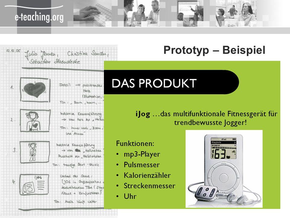 27 Prototyp – Beispiel