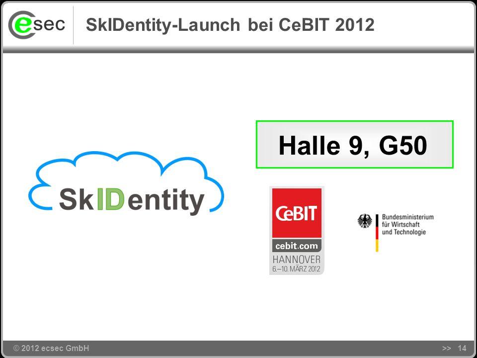 © 2012 ecsec GmbH SkIDentity-Lösungsarchitektur >>13