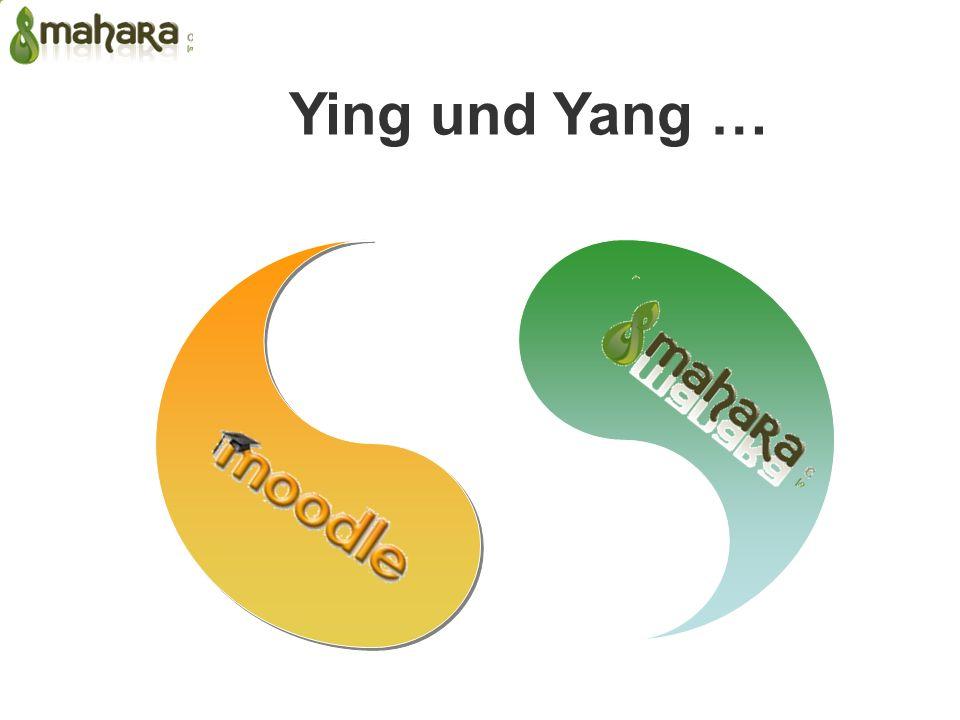 Ying und Yang …