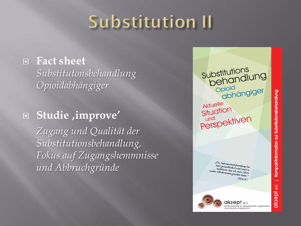 Pressekampagne Platzierung von Artikeln in Fachpresse Heino Stöver et.al * Leitkommentar für den DGS-newsletter Nr.