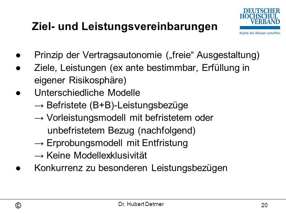 © Dr.Hubert Detmer 21 Zentrale Verhandlung Verhandlungstermin a)Perfekte Vorbereitung: ggf.