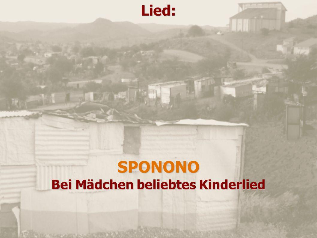 Lied:SPONONO Bei Mädchen beliebtes Kinderlied