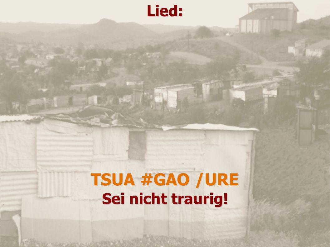 Lied: TSUA #GAO /URE Sei nicht traurig!