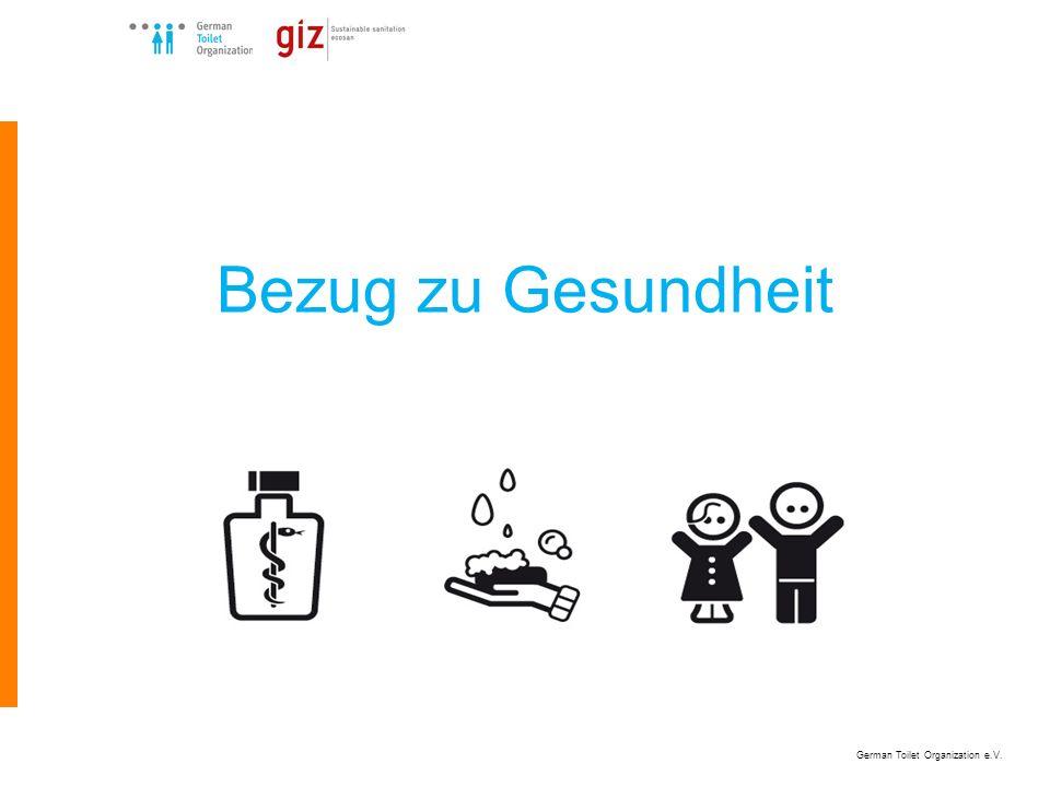 German Toilet Organization e.V. Bezug zu Gesundheit