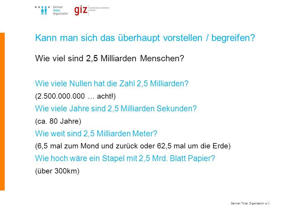Kann man sich das überhaupt vorstellen / begreifen? Wie viel sind 2,5 Milliarden Menschen? Wie viele Nullen hat die Zahl 2,5 Milliarden? (2.500.000.00