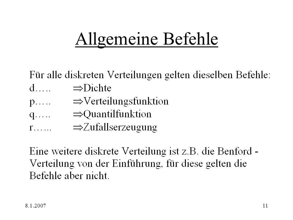 8.1.200711 Allgemeine Befehle