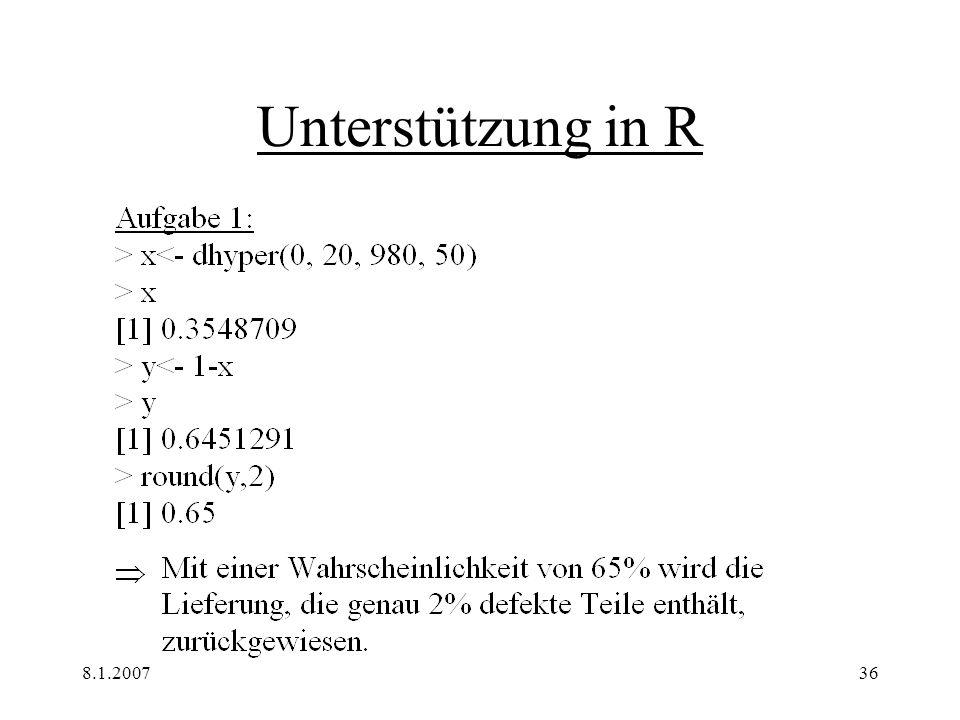 8.1.200736 Unterstützung in R