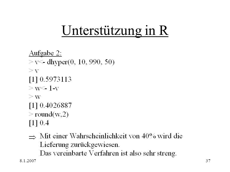 8.1.200737 Unterstützung in R