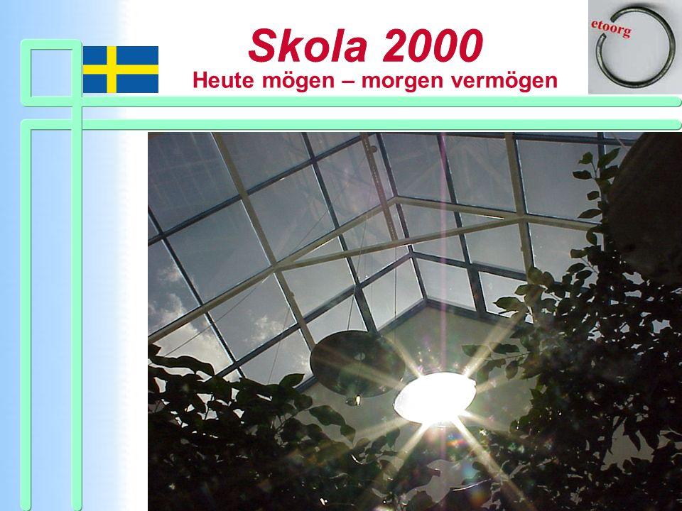 Skola 2000 Heute mögen – morgen vermögen Skola 2000 www.etoorg.org