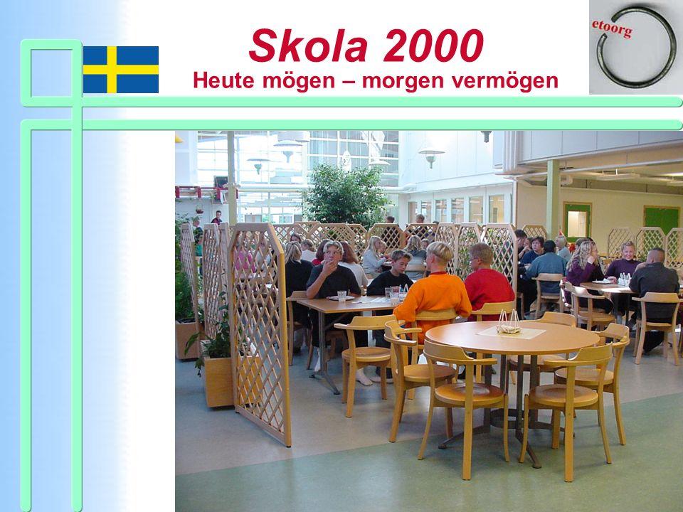 Skola 2000 Heute mögen – morgen vermögen