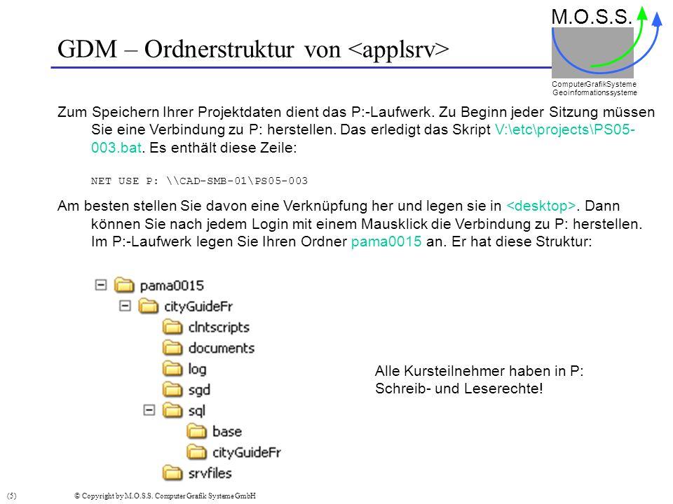 GDM – Client starten M.O.S.S.