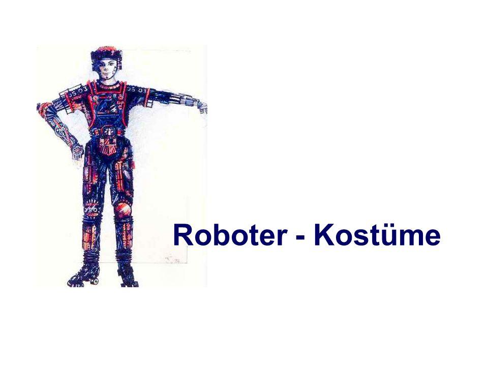 Roboter - Kostüme
