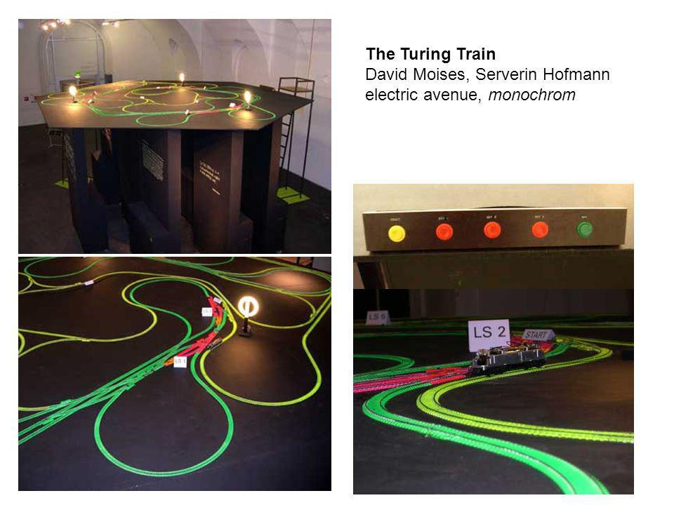 The Turing Train David Moises, Serverin Hofmann electric avenue, monochrom