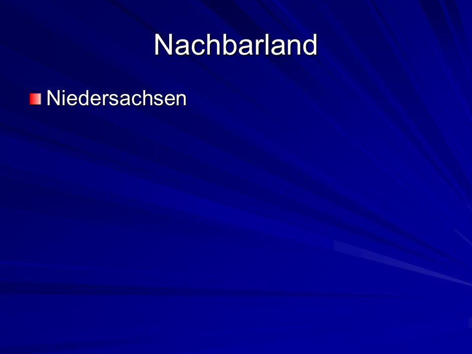 Nachbarland Niedersachsen